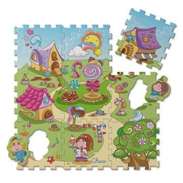 Imagens de TAPETE PUZZLE DOS DOCES