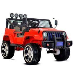 Imagens de Carro Elétrico Jeep Sport Sunshine 4X4 Bateria 12v c/ Comando Vermelho
