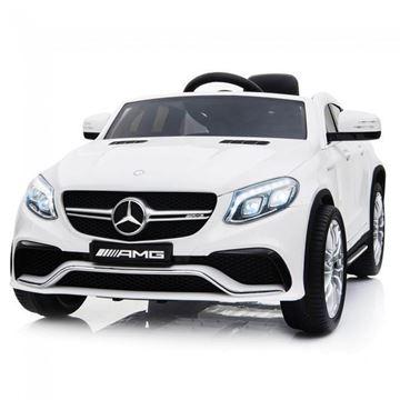 Imagens de Carro Elétrico Mercedes GLE63 Coupe 12V Bateria c/ Comando Branco